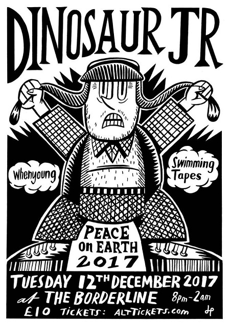 Dinosaur Jr Cancels Borderline Show 'Peace on Earth' Concert