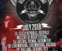 Gene Simmons Band 2018 Tour (Europe) Dates/Tickets, Czech, Austria, Luxembourg, Holland, Germany