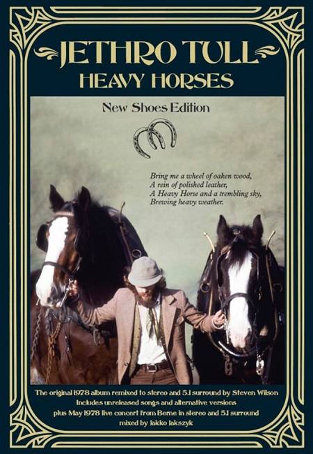 Jethro Tull 'Heavy Horses' Box Set Announced, 3 CD/2 DVD Boxset Details, New Shoes Edition