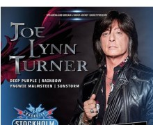 Joe Lynn Turner @ Rock City Stockholm 2018 Announcement