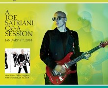 Chance to Meet Joe Satriani – 107.7 The Bone Contest