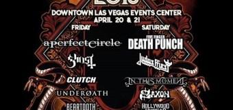 2018 Las Rageous Festival Lineup: A Perfect Circle, Judas Priest, Ghost, Clutch, Saxon