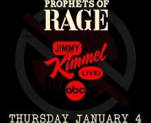 Prophets of Rage on Jimmy Kimmel Live