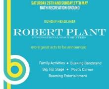 Robert Plant @ The Bath Festival 2018, Sunday Headliner