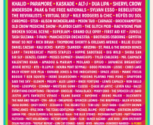 2018 Bonnaroo Festival Lineup Announced, Bon Iver, Muse, The Killers, Eminem