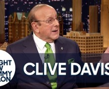 Clive Davis on Jimmy Fallon – The Tonight Show