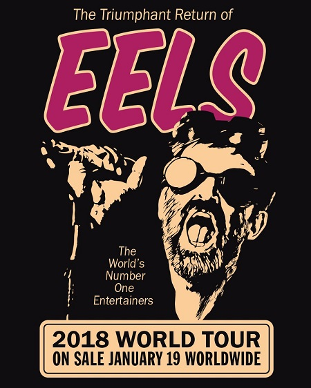 Eels 2018 Tour Announced - New Song/Album 'The Desconstruction'