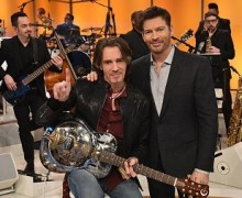 "Rick Springfield on Harry Connick Jr Show ""The Voodoo House"""