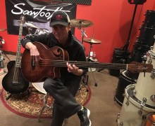 Rudy Sarzo Sawtooth Signature Bass