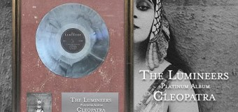 The Lumineers 'Cleopatra' Certified Platinum