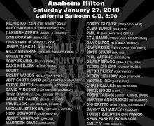 Ultimate Jam Night Anaheim Hilton NAMM 2018