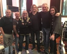 Uriah Heep Finish Recording New Album, 'Living the Dream'