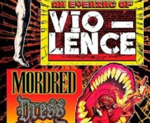 Benefit Concert for Vio-lence Vocalist Sean Killian Announced, Tickets w/ Death Angel, Testament, Exodus, Forbidden