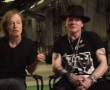 """AC/DC Biographer:  """"AC/DC Will Continue with Axl (Rose) on Vocals"""""""