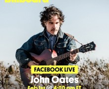 John Oates Facebook Live #BillboardLive Billboard – Hall & Oates