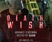Attend 'Death Wish' Screening w/ Slash in Los Angeles, CA – Opportunity