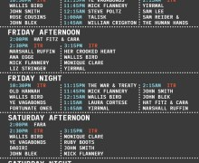 Folk Alliance International 2018 Schedule