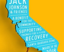 Jack Johnson Benefit Concert @ Santa Barbara Bowl Announced, Tickets + Ventura
