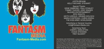 KISS Poster Book – Contents Unveiled – Fantasm – 8 Official Collection Posters +