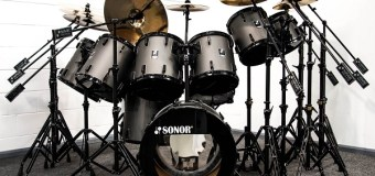 """Iron Maiden: Nicko McBrain's 'Somewhere in Time"""" Kit @ Drum One + 'Seventh Son of a Seventh Son'"""