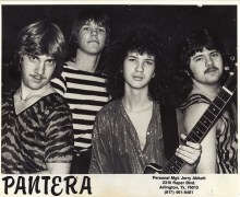 "Terry Glaze on Pantera's Early Songwriting Process, ""It was a great team effort."""