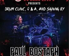 Slayer's Paul Bostaph/Drum Clinic/Skip's Music/Sacramento