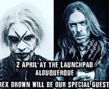 John 5 w/ Rex Brown @ Launchpad in Albuquerque Show Announced 2018 – Pantera, Rob Zombie