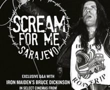Bruce Dickinson: 'Scream For Me Sarajevo' Q&A – Screenings