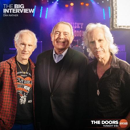 The Doors on Dan Rather - The Big Interview - John Densmore & Robby Krieger