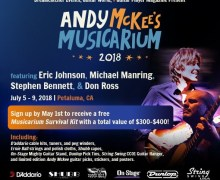 Eric Johnson @ Andy McKee's Guitar Camp in Petaluma, CA