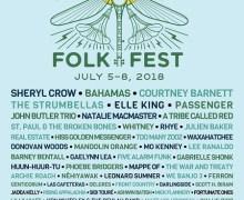 2018 Winnipeg Folk Fest Lineup Announced/Tickets/Sheryl Crow, Bahamas, Courtney Barnett, Waxahatchee, Hiss Golden Messenger, Phoebe Bridgers