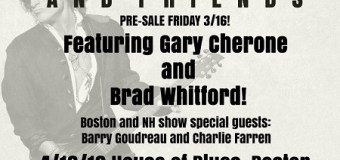 Joe Perry & Friends w/ Gary Cherone, Brad Whitford – Boston, Hampton, Atlantic City
