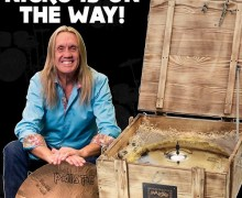 Iron Maiden's Nicko McBrain Schedules Paiste 'Treasure' Cymbal In-Store Opportunity @ Drum One