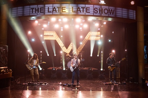 "Weezer on James Corden - The Late Late Show - ""Mexican Fender"""