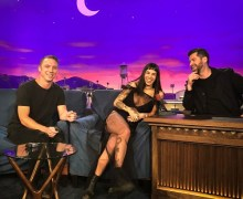 "ODESZA on Conan – ""Higher Ground"""