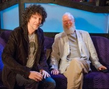 David Letterman on Howard Stern Show – Listen – My Next Guest Needs No Introduction