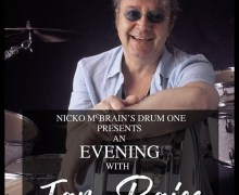 An Evening With Ian Paice (Deep Purple) Hosted By Nicko McBrain (Iron Maiden) – Parr Hall, Warrington