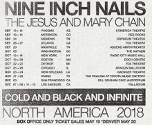 Nine Inch Nails 2018 US Tour Dates Announced – Ticket Info