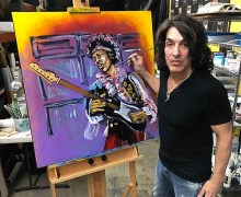 Paul Stanley Art Exhibit @ Wentworth Gallery Atlanta – Show – KISS