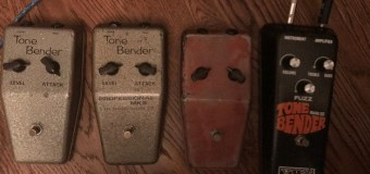 George Lynch:  Tone Bender MK 1, 2, III Guitar Pedal + Jimmy Page