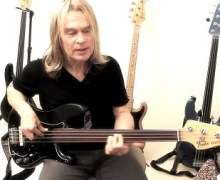 Tony Franklin Fretless Bass Lesson w/ Pick