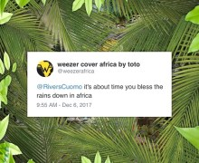 "Weezer ""Africa"" Premiere – Toto Cover"