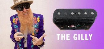 Billy Gibbons – Gilly Tele Stack Bridge Pickup Announced – Seymour Duncan