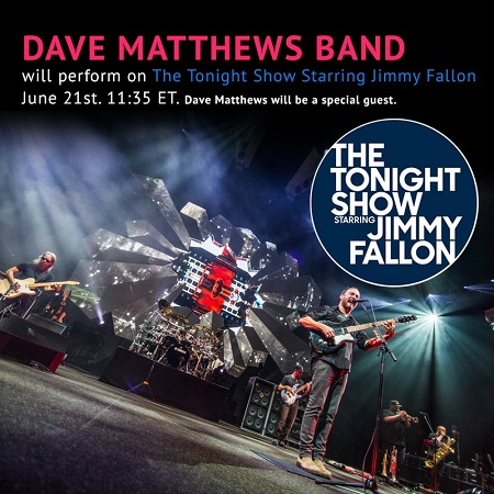 Dave Matthews Band on Jimmy Fallon - The Tonight Show 2018
