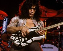 Eddie Van Halen Black & White Guitar Signature Models Announced – '78 Eruption, Relic, SUPER '78