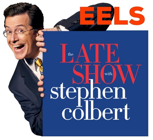 "EELS on Stephen Colbert - The Late Show 2018 - ""Bone Dry"""