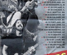 Foo Fighters 2018 Tour – Bands Announced – Dinosaur Jr, Speedy Ortiz, The Struts, The Joy of Formidable, Gang of Youths