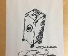 Gene Simmons The Vault – Original Sketch – Box Set