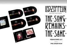 Led Zeppelin 'The Song Remains The Same' Deluxe Boxset Announced CD, Vinyl, Hi-Res 5.1 Surround Sound on Blu-ray