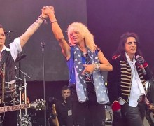 Michael Monroe Joins Hollywood Vampires in Helsinki – Johnny Depp, Joe Perry, Alice Cooper, Hanoi Rocks